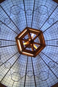 Piccaddily Arcade ceiling