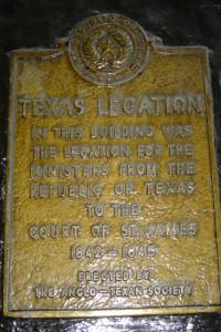 Pickering Place plaque