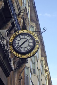 Simon Dickenson Clock Jermyn St